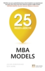 25 Need-to-Know MBA Models - Book
