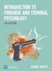 Introduction to Forensic and Criminal Psychology - Book