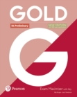 Gold B1 Preliminary New Edition Exam Maximiser with Key - Book