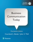 Business Communication Today, Global Edition - Book