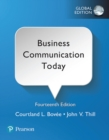 Business Communication Today, Global Edition - eBook