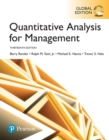 Quantitative Analysis for Management, Global Edition - Book