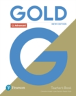 Gold C1 Advanced New Edition Teacher's Book with Portal access and Teacher's Resource Disc Pack - Book