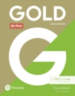 Gold B2 First New Edition Coursebook and MyEnglishLab Pack - Book