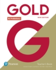 Gold B1 Preliminary New Edition Teacher's Book with Portal access and Teacher's Resource Disc Pack - Book
