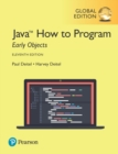 Java How to Program, Early Objects, Global Edition - Book