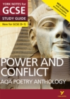 AQA Poetry Anthology - Power and Conflict: York Notes for GCSE (9-1) : Second edition - Book