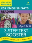 English SATs 3-Step Test Booster Reading: York Notes for KS2 - Book