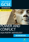 AQA Poetry Anthology - Power and Conflict: York Notes for GCSE (9-1) Workbook - Book
