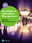 Essentials of Operations Management - eBook