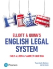 Elliott & Quinn's English Legal System - eBook