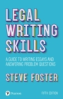 Legal writing skills : A guide to writing essays and answering problem questions - eBook
