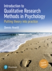 Introduction to Qualitative Research Methods in Psychology : Putting Theory Into Practice - Book