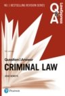 Law Express Question and Answer: Criminal Law, 5th edition - Book