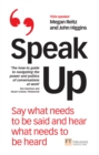 Speak Up - eBook