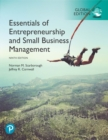 Essentials of Entrepreneurship and Small Business Management, Global Edition - Book