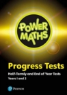 Power Maths Half termly and End of Year Progress Tests Years 1 and 2 - Book