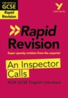 York Notes for AQA GCSE (9-1) Rapid Revision: An Inspector Calls - Book