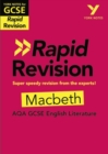 York Notes for AQA GCSE (9-1) Rapid Revision: Macbeth - Book