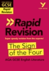 York Notes for AQA GCSE (9-1) Rapid Revision: The Sign of The Four - Refresh, Revise and Catch up! - Book