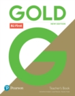 Gold B2 First New Edition Teacher's Book with Portal access and Teacher's Resource Disc Pack - Book