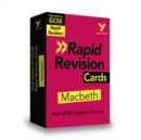 York Notes for AQA GCSE (9-1) Rapid Revision Cards: Macbeth - Book