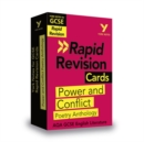 York Notes for AQA GCSE (9-1) Rapid Revision Cards: Power and Conflict AQA Poetry Anthology - Book