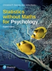 Statistics without Maths for Psychology - Book