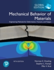 Mechanical Behavior of Materials, Global Edition - Book