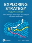 Exploring Strategy, Text and Cases, 12th Edition - eBook