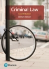 Criminal Law - eBook