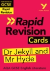 York Notes for AQA GCSE (9-1) Rapid Revision Cards: The Strange Case of Dr Jekyll and Mr Hyde - eBook