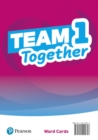 Team Together 1 Word Cards - Book