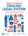 English Legal System - eBook