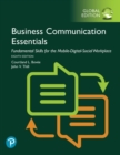 Business Communication Essentials: Fundamental Skills for the Mobile-Digital-Social Workplace, Global Edition - Book
