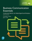 Business Communication Essentials: Fundamental Skills for the Mobile-Digital-Social Workplace, Global Edition : Bovee:BCE:FSMDSW GE_p8 - eBook