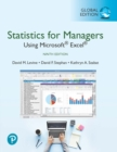Statistics for Managers Using Microsoft Excel, Global Edition : Statistics for Managers Using Microsoft Excel - Book