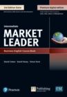 Market Leader 3e Extra Intermediate Course Book, eBook, QR, MEL & DVD Pack - Book
