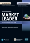 9781292361147 Market Leader 3e Extra Upper Intermediate Course Book, eBook, QR, MEL & DVD Pack - Book