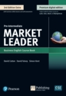 9781292361161 Market Leader 3e Extra Pre Intermediate Course Book, eBook, QR, MEL & DVD Pack - Book