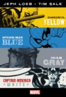 Marvel Knights: Jeph Loeb & Tim Sale: Yellow, Blue, Gray & White Omnibus - Book