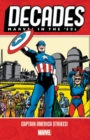 Decades: Marvel In The 50s - Captain America Strikes - Book