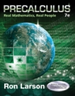Precalculus : Real Mathematics, Real People - Book