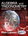Algebra and Trigonometry : Real Mathematics, Real People - Book