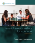 Empowerment Series: Essential Research Methods for Social Work - Book