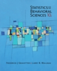 Statistics for The Behavioral Sciences - Book
