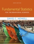 Fundamental Statistics for the Behavioral Sciences - Book