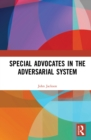 Special Advocates in the Adversarial System - eBook