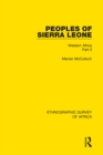 Peoples of Sierra Leone : Western Africa Part II - eBook