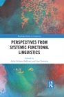 Perspectives from Systemic Functional Linguistics - eBook